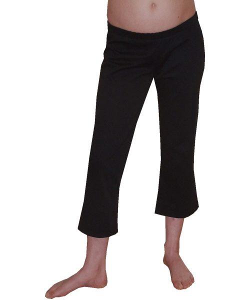 Maternity three quarter Capri pants