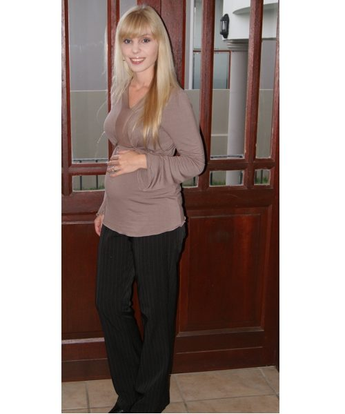 Maternity hipster pants 4