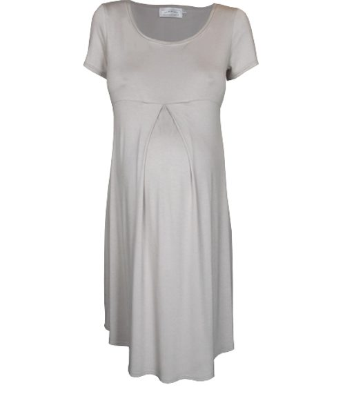 Pleat maternity wear summer dress