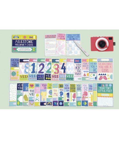 Pregnancy Milestone Cards 4