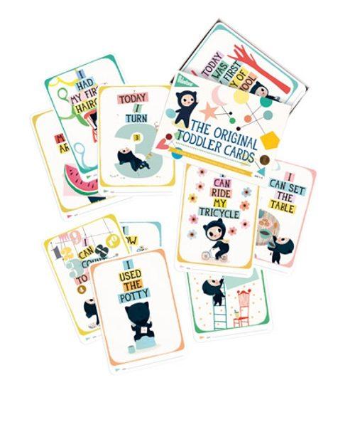 Toddler Milestone Cards 2