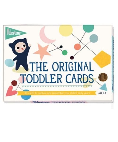 Toddler Milestone Cards pack