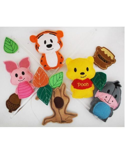 Winnie the pooh and friends baby mobile