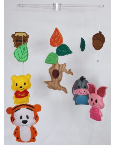 Winnie the pooh and friends baby mobile 1