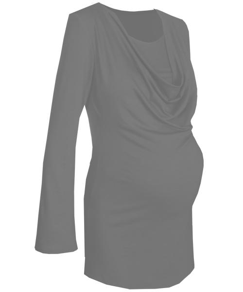 Drape Cowl breastfeeding maternity top 4