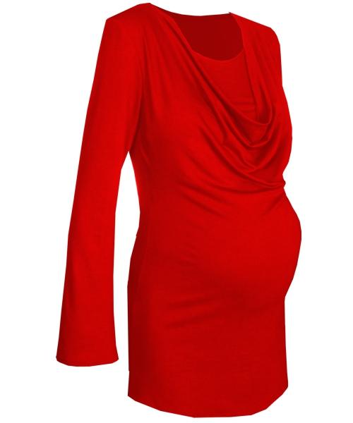 Drape Cowl breastfeeding maternity top 8