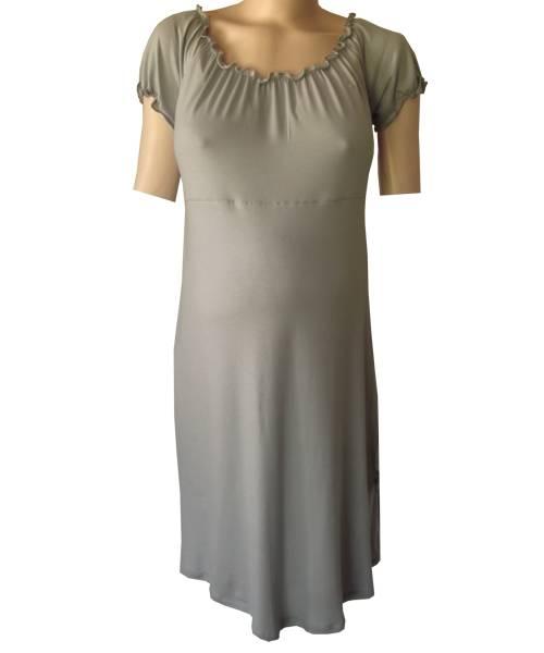 Gypsy style elastic maternity dress