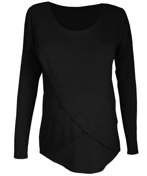 Long sleeve Tulip Maternity Breastfeeding Top 2